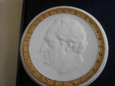 Meissen  Erinnerungs-Medaille von Goethes  Aufenthalt 1923 in Poessneck
