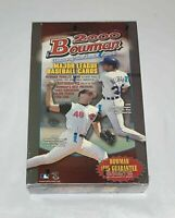 2000 Bowman Factory Sealed Baseball Hobby Box Autographs from top 40 Prospects