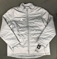 ADIDAS Men's Onix Gray CLIMASTORM Spring/Fall Transition Jacket