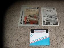 Maintenance and Service commodore 64 program with manual and box