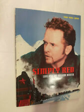 SIMPLY RED LOVE AND THE RUSSIAN WINTER PIANO VOCAL GUITAR SONGBOOK SPARTITO TAB