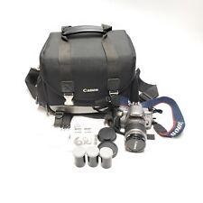 XLNT Canon Rebel T2 EOS 35mm SLR Camera w/ EF 28-90mm f/4-5.6 III + Extras w Bag