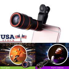 Universal Cell Phone Camera Lens 12X Zoom Lens Optical Clip Telephoto Telescope