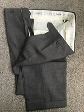 """NWOT SANTORELLI PANTS MADE IN ITALY NICEE, Olive Green, 38""""X 31"""" FLAT FRONT/cufs"""