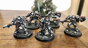OOP Grey Knights Terminator Squad Pro Painted