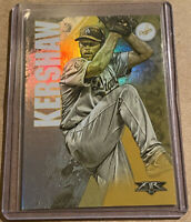 Clayton Kershaw 2019 Topps Fire Gold Minted Refractor Los Angeles Dodgers #52