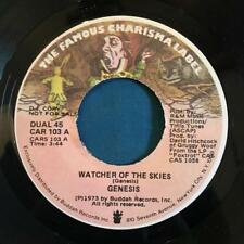 """GENESIS WATCHER OF THE SKIES / SAME 1973 PROMO-ONLY 7""""~BELL SOUND~STRONG VG+"""