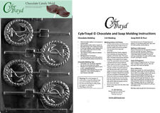 Anchor Lolly Chocolate Candy Mold, In Sealed Poly Bag w/Instructions