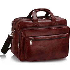Pilot Business Executive Briefcase Laptop Work Bag Shoulder Messenger Bags Burgundy