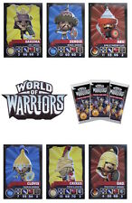 Topps World Of Warriors Trading Cards. Warrior Cards 1-60