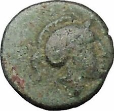 Pergamon in Mysia 310BC Ancient Greek Coin Athena Cult War Magic Stars  i49666