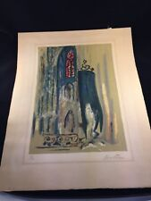 Rico Blass Blue Temple Singed and Numbered.