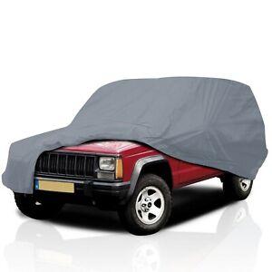 Ultimate HD 5 Layer Waterproof Semi Custom Car Cover for Dodge Raider 1987-1989