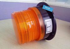 Car Bus Top Beacon Strobe Emergency Warning flash light Amber DC12V/60V