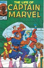 The Life Of Captain Marvel #4 ( Marvel 1985) NM -- STARLIN -- THANOS