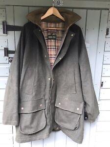 john partridge Tweed Gore-Tex  Hunting Shooting Jacket XXL