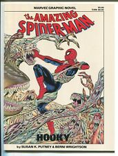 AMAZING SPIDER-MAN HOOKY GRAPHIC NOVEL #22 - BERNI WRIGHTSON ART - MARVEL/1986