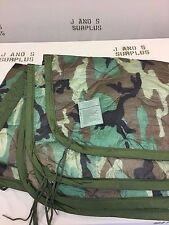 Poncho Liner Woobie Blanket US Military Issue Woodland Camo Grade A USGI Surplus