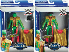 WWE LOS MATADORES FERNANDO & DIEGO FIGURE ELITE 35 WRESTLING TAG TEAM SET