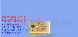TCXO 300MHz 300.000000MHz 0.1ppm Ultra precision Gold Crystal Oscillator #GE9 XH