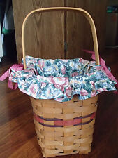 Longaberger 1994 Bee Basket W/1993 Mothers Day Liner, They Look Great Together.