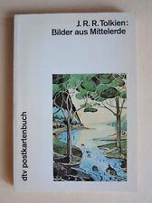 J.R.R. Tolkien - Bilder aus Mittelerde, dtv Postkartenbuch, 1984, Erstausgabe