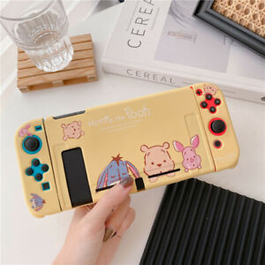 Cute cartoon Winnie pooh Piglet Nintendo Switch Case soft Shell Protective cover