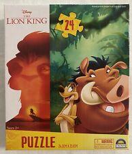 Lion King Puzzle Timon And Pumba - 24pc Disney Jigsaw - 26cm X 23cm - Brand New