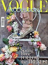 Vogue Accessory 2016 19#Spring Issue Follow the Trends,qqq