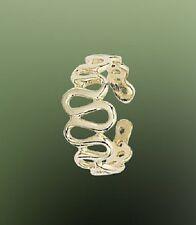 Ring - (1.5Cm Diameter) 14ct Gold Plated Unique Toe