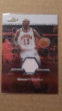 2002-03 Finest Glenn Robinson #141 Game-Worn Jersey