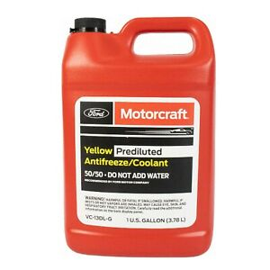 🔥Motorcraft VC13DLG Gallon Yellow Engine Coolant AntiFreeze For Ford Lincoln🔥