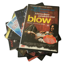 13 JOHNNY DEPP Movies - BLOW, Man Who Cried, DON JUAN, Chocolat, EDWARD Scis DVD