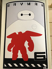 Big Hero 6 movie poster print