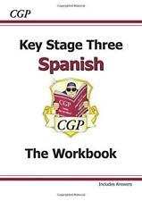 KS3 ESPAÑOL Workbook Por PARSONS, Richard Libro De Bolsillo 9781847628879 NUEVO