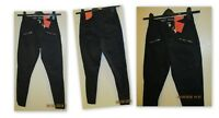 Mossimo Women's High Waist Skinny Moto Utility Pants Jegging black SZ 00 thru 18