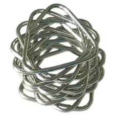 Spiral prismatic packing (SPP) 5,5x4,5x0.3 mm for distillation (stainless) 1L