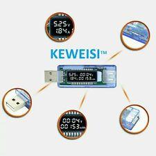 USB Current Voltage Doctor Charger Capacity Tester Meter Power Bank UK seller