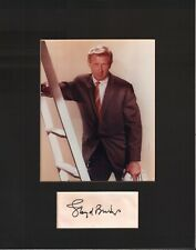 Loyd Bridges Signed Autographed Cut Matted 11x14 w/COA 073019DBT2