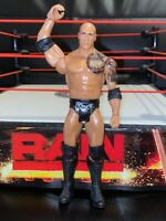 THE ROCK WWE Mattel action figure BASIC kid toy PLAY Wrestling