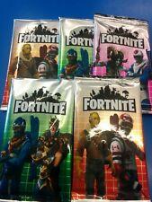 Fortnite Trading kids game Cards in foil packs lot's design 5packs (40 cards)
