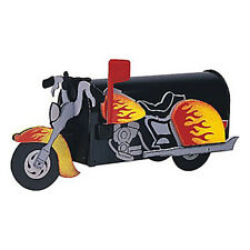 Motorcycle Mailbox Post Mount - Handmade by More Than A Mailbox