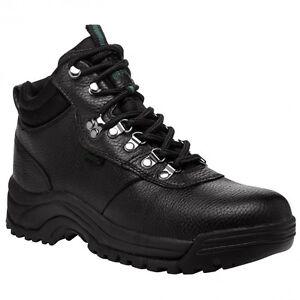 MENS PROPET CLIFF WALKER BOOTS, BLACK, 12X (3E), NIB