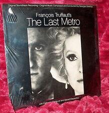 LP Factory Sealed OST Francois Truffaut;s THE LAST METRO Georges Delerue DENUEVE
