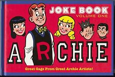 Archie Joke Book Great Gags From Great Archie Artists Vol 1 HC IDW 2011 NM