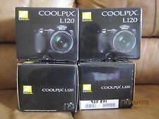 Brand New Nikon COOLPIX L120 14 MP 21X Digital Camera - Black