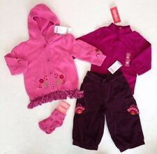 NWT Gymboree Peruvian Doll 12-18 Tassel Sweater Bodysuit Flower Pants & Socks