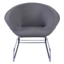 Living Room Accent Chairs   eBay New Modern Gray Accent Chair Leisure Arm Sofa Lounge Living Room Home  Furniture. Accent Chair For Living Room. Home Design Ideas