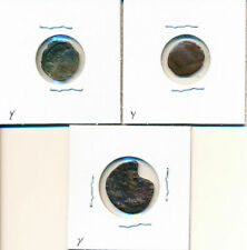 New ListingLot (3) Old Unidentified Roman Bust Type Coins Nice Circulated # Wb 18