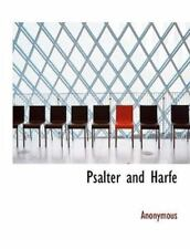 Psalter And Harfe (german Edition): By Anonymous